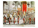 The Coronation of Leopold II (1747-92) at Bratislava in 1790 Giclee Print