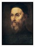 Portrait of John Calvin (1509-64) Giclee Print by  Titian (Tiziano Vecelli)