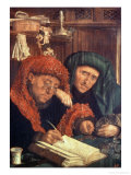 The Tax Collectors, 1550 Giclee Print by Marinus van Roejmerswaelen