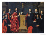 The Prevot Des Marchands and the Echevins of the City of Paris, 1648 Giclee Print by Philippe De Champaigne