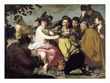 Triumph of Bacchus, 1628 Giclée-Druck von Diego Rodriguez de Silva y Velazquez
