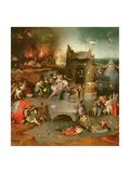 Temptation of St. Anthony (Centre Panel) Giclee Print by Hieronymus Bosch
