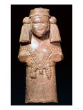 Statue of Coatlicue, Ancient Earth and Mother Goddess, Aztec, 14th-16th Century Giclee Print