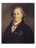 Portrait of Johann Wolfgang Von Goethe (1749-1832) with Decorations Giclee Print by Heinrich Cristoph