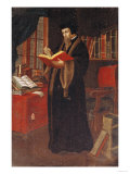 Portrait of John Calvin (1509-64), French Theologian and Reformer Giclee Print