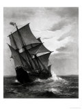 The Mayflower, Engraved and Pub. by John A. Lowell, Boston, 1905 Giclee Print by Marshall Johnson