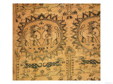 Tapestry, Western Asian, (Sogdiana) 7th-8th Century (Woven Silk) Giclee Print