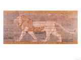 Lion Representing Ishtar, Frieze from the Processional Way Leading to the Great Temple at Babylon Giclee Print