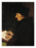Portrait of Desiderius Erasmus (1466-1536) Giclee Print by Hans Holbein the Younger
