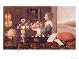 The Five Senses, or Summer, 1633 Giclee Print by Sebastian Stoskopff