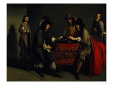 The Backgammon Players Giclee Print by Antoine & Louis Le Nain