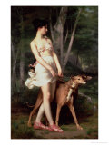 Diana the Huntress Giclee Print by Gaston Casimir Saint-Pierre