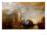 Ulysses Deriding Polyphemus, 1829 Gicledruk van William Turner