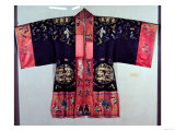 Taoist Robe with Tai Chi Yin and Yang Symbol and the Eight Trigams (Pa Kua), Chinese Giclee Print