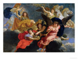 Apotheosis of King Louis XIV of France Giclee Print by Charles Le Brun