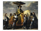 The Chancellor Seguier (1588-1672) Giclee Print by Charles Le Brun