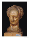 Bust of Johann Wolfgang Von Goethe (1749-1832), 1831 Giclee Print by Pierre Jean David d'Angers