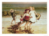 Sea Horses Giclee Print by Frederick Morgan