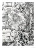 "St. John Devouring the Book from the ""Apocalypse"" or ""The Revelations of St. John the Divine"" Giclee Print by Albrecht Dürer"