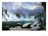 Niagara Falls Giclee Print by Hippolyte Victor Valentin Sebron