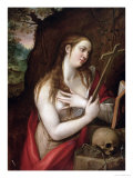 The Penitent Magdalene, 1579 Giclee Print by Luis de Carbajal