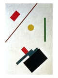 Suprematist Composition, 1915 Giclee Print by Kazimir Severinovich Malevich
