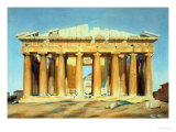 The Parthenon, Athens, 1810-37 Giclee Print by Louis Dupr&#233;