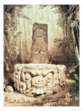 Mayan Temple, Honduras Giclee Print by Frederick Catherwood