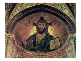 Christ Pantocrator, in the Apse, Byzantine, 12th Century Giclee Print
