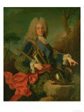 Portrait of Philip V (1683-1746) Giclee Print by Jean Ranc