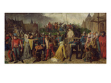 Joan of Arc (1412-31) Being Led to Her Death, 1867 Giclee Print by Isidore Patrois