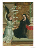 The Annunciation Giclee Print by Juan de Borgona