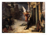The Plague in Rome, 1869 Giclee Print by Jules Elie Delaunay