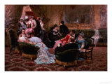 An Entertaining Evening Giclee Print by Egisto Lancerotto
