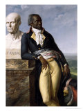 Portrait of Jean-Baptiste Belley (D.1804) Deputy of San Domingo, 1797 Gicle-tryk af Anne-Louis Girodet de Roussy-Trioson