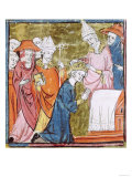 The Coronation of Emperor Charlemagne (742-814) by Pope Leo III (circa 750-816) at St. Peters Giclee Print