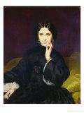 Portrait of Jeanne De Tourbay (1837-1908) 1862 Giclee Print by Eugene Emmanuel Amaury-Duval