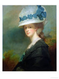 Mrs. Musters Giclee Print by George Romney