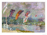 Regatta at Molesey, 1874 Giclee Print by Alfred Sisley