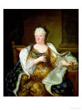 Portrait of Elizabeth Charlotte of Bavaria, Duchess of Orleans Giclee Print by Hyacinthe Rigaud