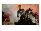 Albert I (1875-1934) King of the Belgians in the First World War, 1914 Giclee Print by Ilya Efimovich Repin