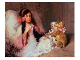 Restful Company Giclee Print by Gabriel Nicolet