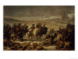After the Battle of Eylau, 9th February 1807 Giclee Print by Charles Meynier