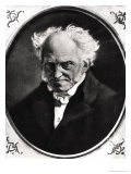 Portrait of Arthur Schopenhauer (1788-1860) Giclee Print by Angilbert Wunibald Gobel