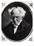 Portrait of Arthur Schopenhauer (1788-1860) Giclee Print by Angilbert Wunibald Gobel