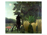 The Snake Charmer, 1907 (La Charmeuse Des Serpents) Premium Giclee Print by Henri Rousseau