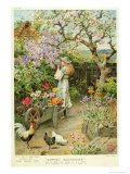 Spring Blossoms, from the Pears Annual, 1902 Premium Giclee Print by William Stephen Coleman