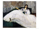 Portrait of Jeanne Duval, 1862 Giclee Print by Édouard Manet