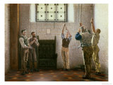 Bell Ringers Giclee Print by Henry Ryland