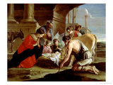 The Adoration of the Shepherds, circa 1638 Giclee Print by Antoine & Louis Le Nain